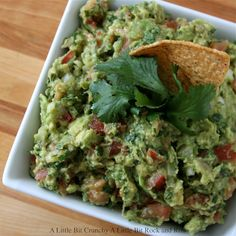 The Best Guacamole. Ever. - Truly! Got any parties coming up? Who cares, make it anyway. #recipe #dip