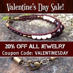 VALENTINES DAY SALE! 20% off all Jewelry! --> Just use the coupon code: VALENTINESDAY and receive 20% off any purchase! >> wanderlustwrists.etsy.com  --> Link to shop in bio  - Sale goes until Feb. 17th. #sale #VALENTINESDAY #coupon #valentinesdaysale #onlinesale #etsy #etsysale #discount #handmade #jewelrysale #jewelry #bracelet #bracelets #chanluu #garnet #rosequartz #love #gift #present #romantic #valentinesdaygift #wanderlust #travel #explore #adventure #hippie #bohemian #gypsy