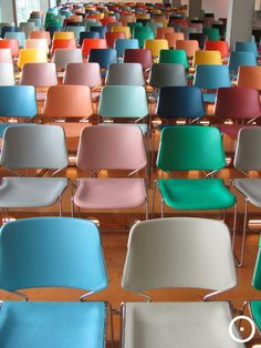 chair Matrix by Krueger at Kunsthal Rotterdam