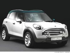 want to trade my mini cooper in for a Mini Cooper Countryman