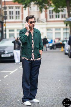 Alex Badia Street Style Street Fashion Streetsnaps by STYLEDUMONDE Street Style…