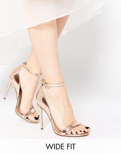 ASOS HONEY - Sandales larges a talons chez shoping tenuedujour lookdujour mode femme ete achat fashion mignon jolie tendance ootd lux chaussures