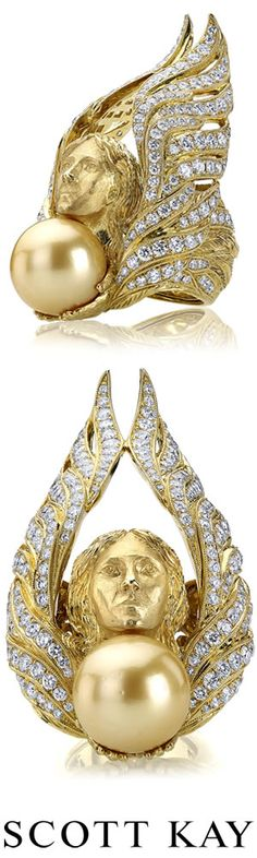 Ladies Couture Gold and Diamond Ring