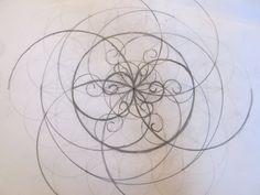 Seed of Phi, fractal yin yang by pureuniversalflow.deviantart.com on @deviantART