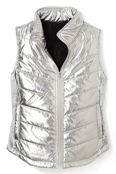 Make walking to the bus stop feel like walking the runway for your fave glam tween. City Streets vest, $34; jcpenney.com.    - Redbook.com