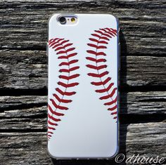 MADE IN JAPAN Soft Clear TPU Case Baseball art pattern for iPhone 6 & iPhone 6s