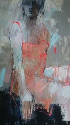 Marjan Nagtegaal - model in rode jurk Painting Courses, Art Courses, Drawing Themes, Art Drawings, Figure Painting, Figure Drawing, Art Alevel, Mexico Art, Art Model
