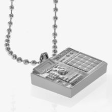 Flud | Products | BPM Pendant (Silver)