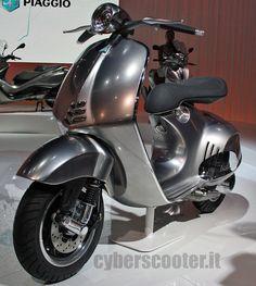 Vespa Quarantasei. 2012 concept. Shame the 2013 production model just isn't this cool!