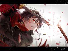 """Please master, please don't throw me away. Character Concept, Character Art, Character Design, Image Manga, Wallpaper Gallery, Anime Artwork, Touken Ranbu, Anime Guys, Comic Games"