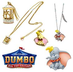 Disney Couture- Dumbo. Seriously wish they had used a cropped movie still for the pic of Dumbo instead of a franchise image...
