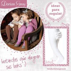 #Ideaspararegalar http://tienda.doriangray.es/ Venta online y en tiendas de pantys, calcetería, ropa íntima, pijamas y complementos. Mujer, hombre, niño/a y bebé