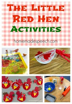 """This month, the early childhood special education (ECSE) preschool classes have been reading one of my childhood favorites, """"The Little Red Hen."""" My dad often read this to me at bedtime over the y..."""
