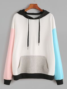 To find out about the Drop Shoulder Pocket Front Hooded Sweatshirt at SHEIN, part of our latest Sweatshirts ready to shop online today! Fashion Mode, Korean Fashion, Fashion Outfits, Sweat Style, Mode Kawaii, Vetement Fashion, Kawaii Clothes, Tom Tailor Denim, Hoodie Sweatshirts