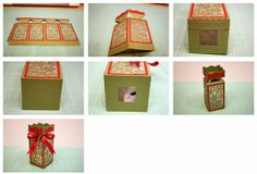 Decorative Snowflake Lantern Box
