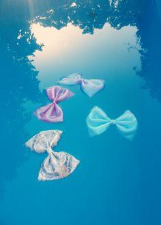 #mermaid #bow #summer #pool #party #cute #litmus