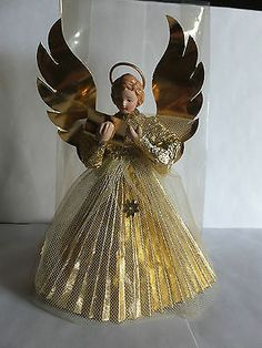 vintage christmas german angels - Google Search