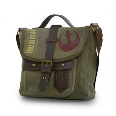 You're on a top secret mission to steal blueprints for an Imperial weapon, and this Star Wars Rogue One Rebel Alliance Crossbody Messenger Bag is the right accessory to help you look good while rebelling against the system.  When Jyn Erso and her rag-tag gang of Rebels get their hands on the Death