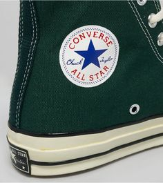 Converse Chuck Taylor All Star HiConverse Chuck Taylor All Star Hi - find out more on our site. Find the freshest in trainers and clothing online now. Converse Chuck Taylor All Star, Converse All Star, Chuck Taylor Sneakers, Converse 70s, Mix Style, Best Sneakers, Chuck Taylors, Trainers, Cool Photos