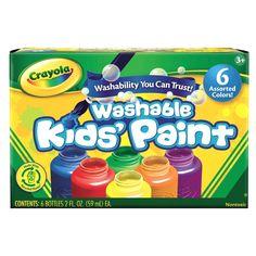 Crayola 6-pack Washable Kid's Paint