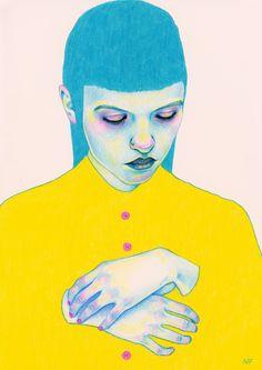 Fuck Yeah Illustrative Art! • Shy by Natalie Foss Website Tumblr