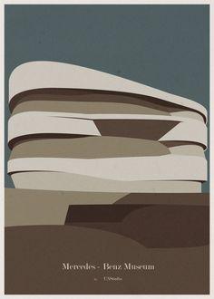 Arte y Arquitectura: Las Ilustraciones de Arquitectura de André Chiote