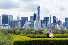 뉴욕 메트로폴리탄 뮤지엄에서 촬영한 허니문 데이트 스냅 사진입니다.