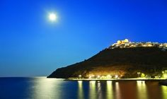 Astypalaia Go Greek, Small Island, Greek Islands, Paradise, Places To Visit, Castle, Around The Worlds, Earth, Night