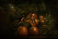 Awaiting Halloween by MissGrib.deviantart.com on @DeviantArt