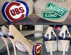 Chicago Cubs Pumps. Want.want.want!!!