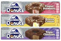 Chocolate Coating, Chocolate Dipped, Klondike Bar, Fried Donuts, Boston Cream, Icecream Bar, Frozen Treats, Sweet Recipes, Sweet Tooth