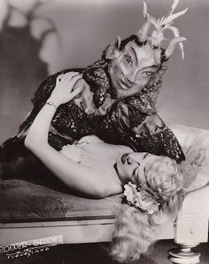 Bonnie White and her demon, 1943