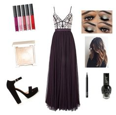 """""""Me at prom"""" by savannahtaylor950 on Polyvore featuring Needle & Thread, Jouer and NARS Cosmetics"""