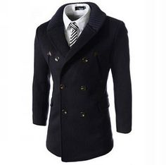 The Commissioner Double Breasted Coat