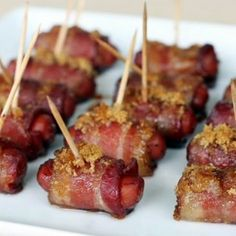Super Bowl Sausage Bites I think I just fell in love