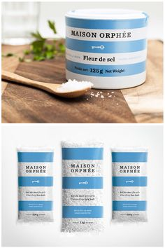 Maison Orphée's Sea Salt Packaging