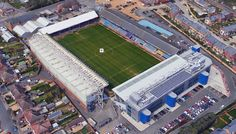London Road Stadium - Home of Peterborough United FC British Football, English Football League, Football Tops, Football Stadiums, Blackpool Fc, Peterborough United, Britain, The Past, Around The Worlds
