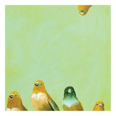 Found it at Joss & Main - Family of Feathers Canvas Print