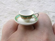 Teacup And Saucer Ring ♥ ♥ ♥