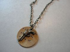 "Miranda Lambert ""What little girls are made of..."" necklace."