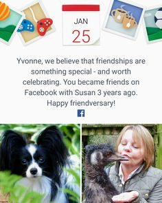 """""""My dear friend Susan Fitzharris and I became friend's on Facebook~January 25, 2014!"""""""