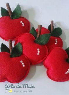 lembrancinhas com maçãs - Pesquisa Google
