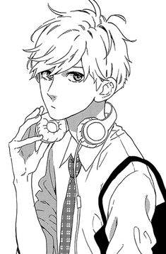 Daiki Mamura - A silent guy who's indifferent to his surroundings. He is very cold to others, especially girls. He's seen as cool and aloof and rarely expose his soft, caring side.