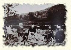 history cheat river | ... , Henry Ford and Thomas Edison sit alongside the Shavers Fork River