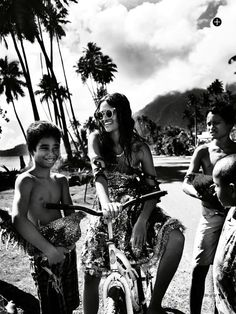 Shanina Shaik by David Gubert for Marie Claire Australia January 2014