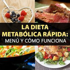 La Dieta metabólica combina la ciencia y la biología para poder acelerar el metabolismo y así lograr una pérdida de peso efectiva, deshaciéndose de varios kilos en poco tiempo. Al mismo tiempo, se adopta un estilo de vida más saludable.