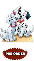 101 Dalmatians Puppies 68cm Lifesize Cardboard Cutout