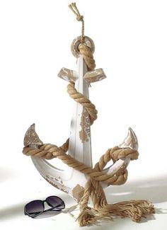 Deko-Anker 58 cm mit Seil
