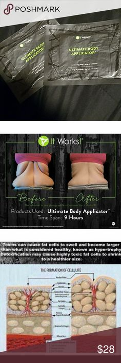 Ultimate body applicator wraps $28Ea w/ free gift These wraps tighten,tone & firm anywhere from the neck down The results are amazing! I will have more in stock! I will even throw in a defining gel 4 FREE 4 anyone who purchases the wraps they are the sister products to the wraps! In the pic of the 4 pics in one are my own results from peeling very badly w/ sunburn those were my results an hour later from defining gel & is now forming a beautiful tan! #beautyhack u can also check my website…