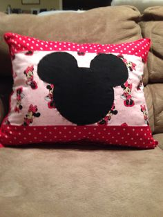 My Minnie Mouse Pillow.